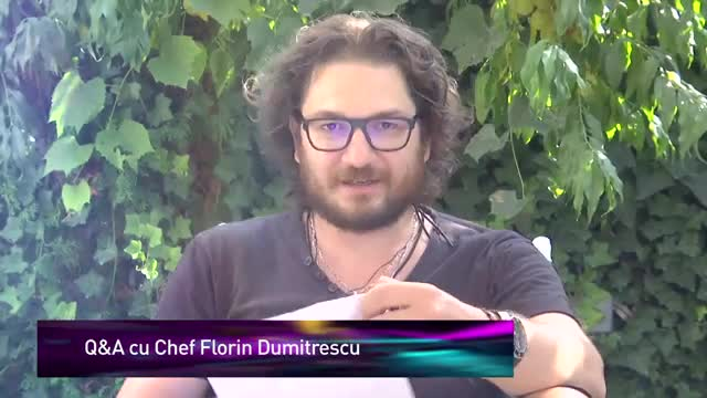 Q&A cu Chef Florin Dumitrescu