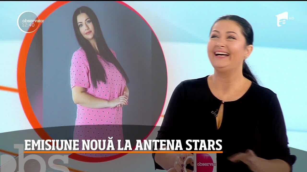"""Emisiune nouă la Antena Stars! Gabriela Cristea, gazda emisiunii """"Like a star"""", dezvăluiri din culisele primei ediții"""
