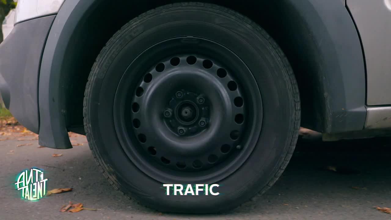 Antitalent  - Lucrurile care ţi se pot întâmpla dacă rămâi blocat în trafic!