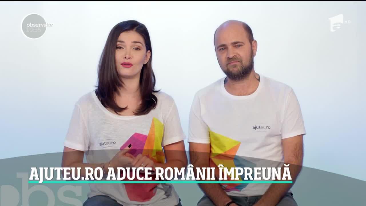 Ajuteu.ro aduce românii împreună! Cum poți să îndeplinești dorința unui om sărman