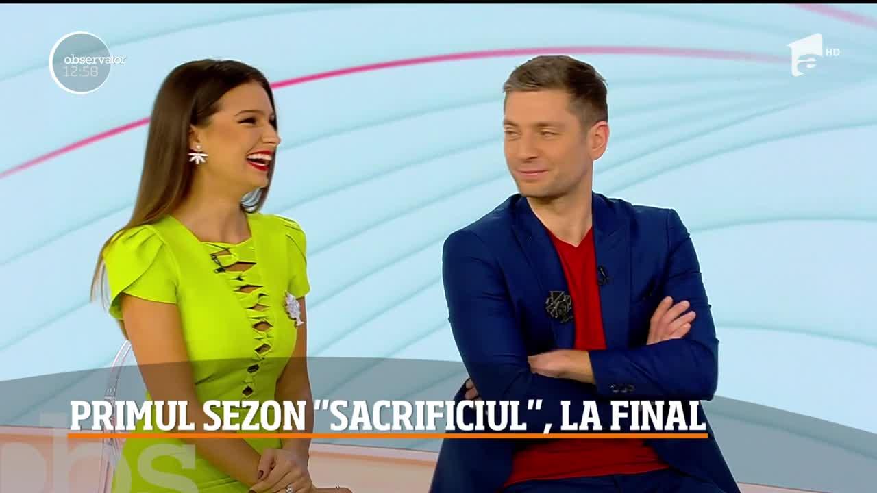 Oana, Denis şi Daniel, actorii principali din Sacrificiul, dezăluiri despre finalul primului sezon
