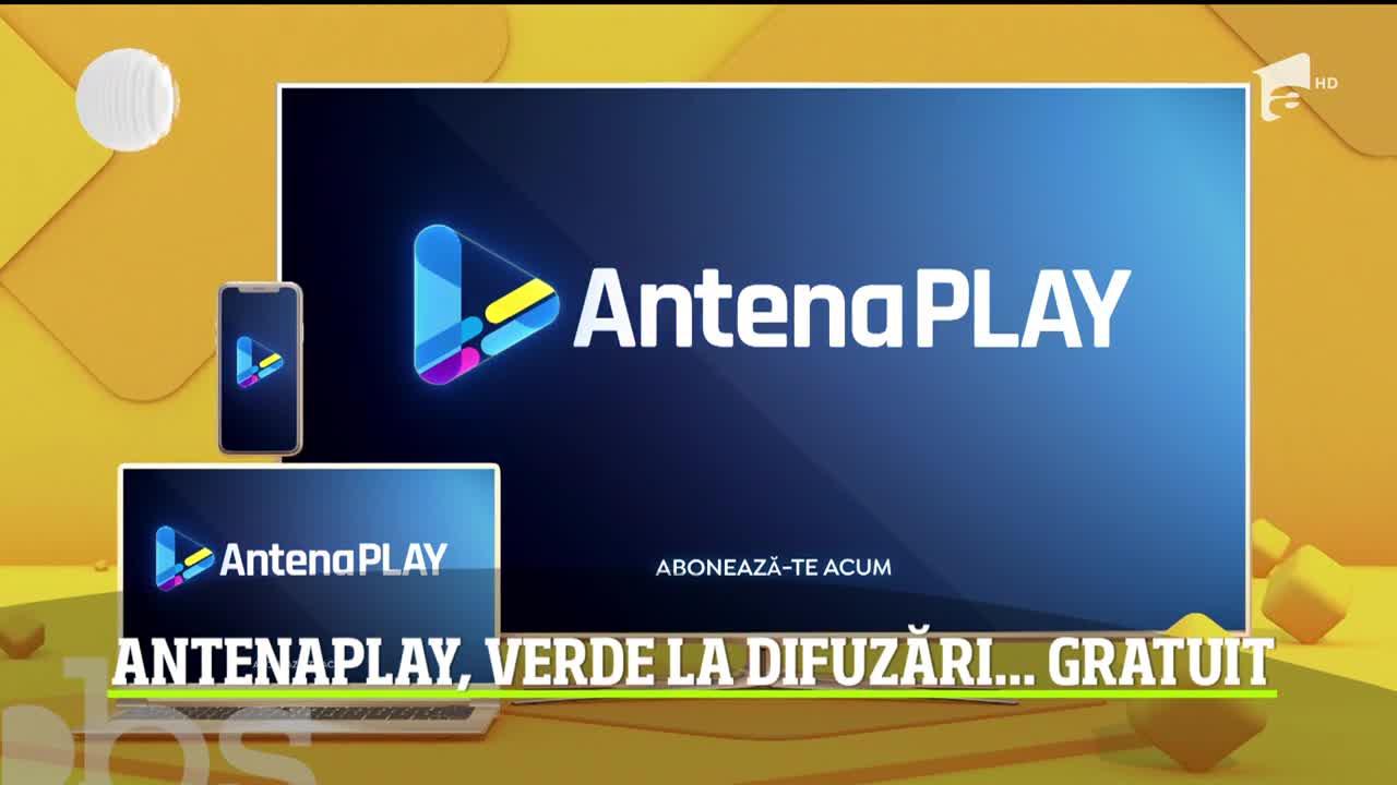 AntenaPlay dă undă verde la distracţie! Primele episoade ale emisiunilor preferate pot fi vizionate gratuit! Video