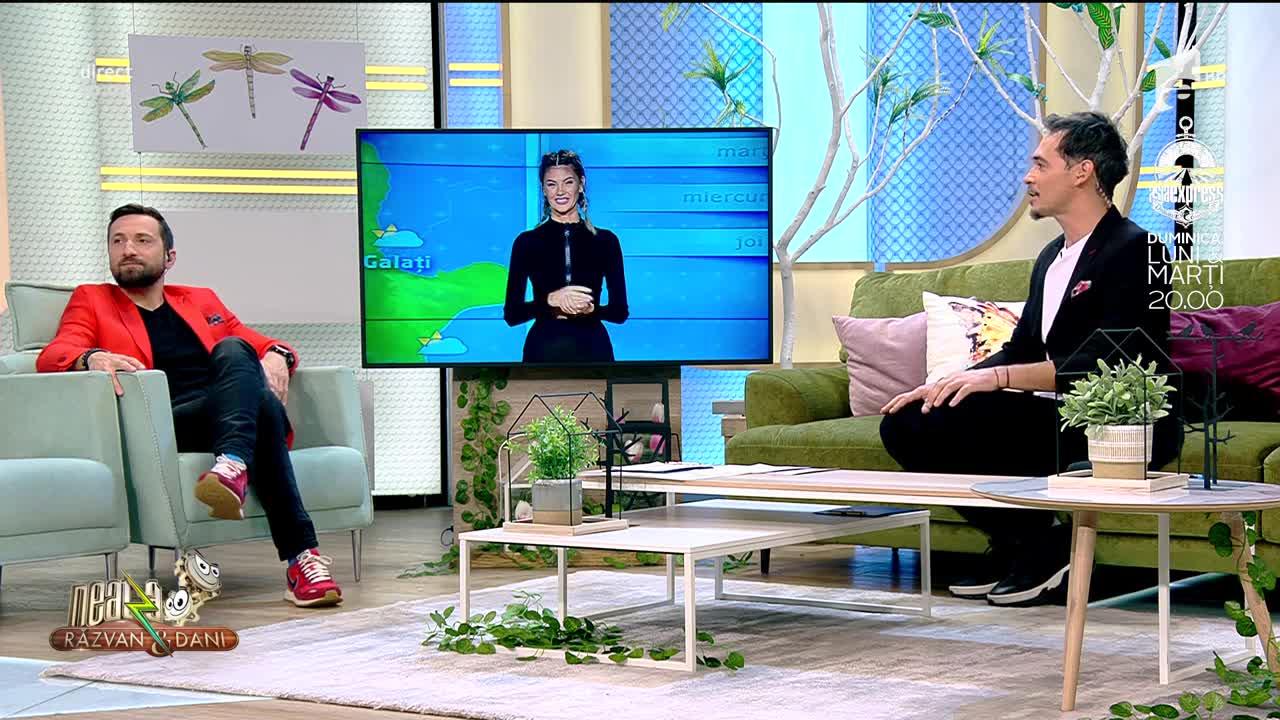 """Ramona Olaru a împlint un an de Neatza! Răzvan Simion: """"E cea mai punctuală dintre toate pe care le-am avut!"""""""