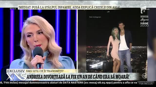 """Andreea Bălan, despre scandalul cu droguri în care a fost implicat George:""""Eu nu l-am văzut niciodată fâcând asta"""""""