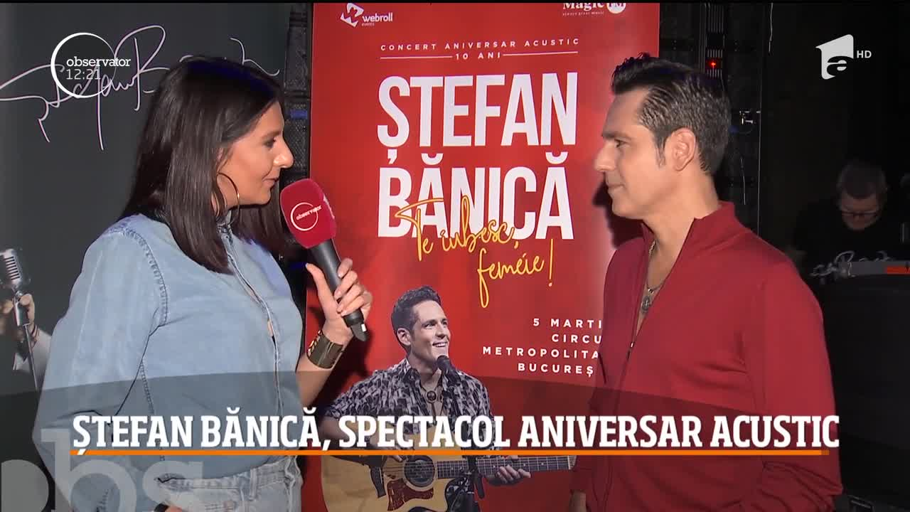 Ștefan Bănică, îndrăgostit de 10! Noul jurat Next Star oferă, de 10 ani, cel mai frumos mărțisor doamnelor