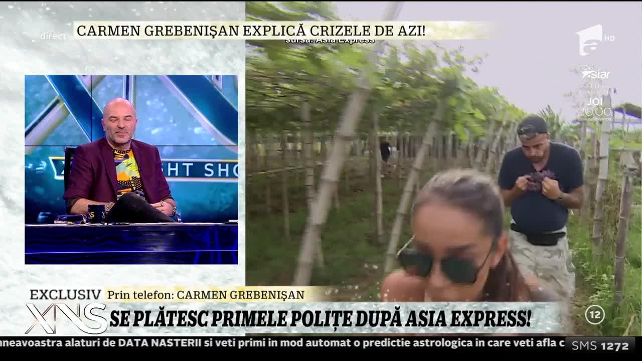 """Cum comentează Carmen Grebenişan venirea lui Irinel Columbeanu în Asia Express: """"Era foarte interesat de preţul la benzină în Filipine!"""""""