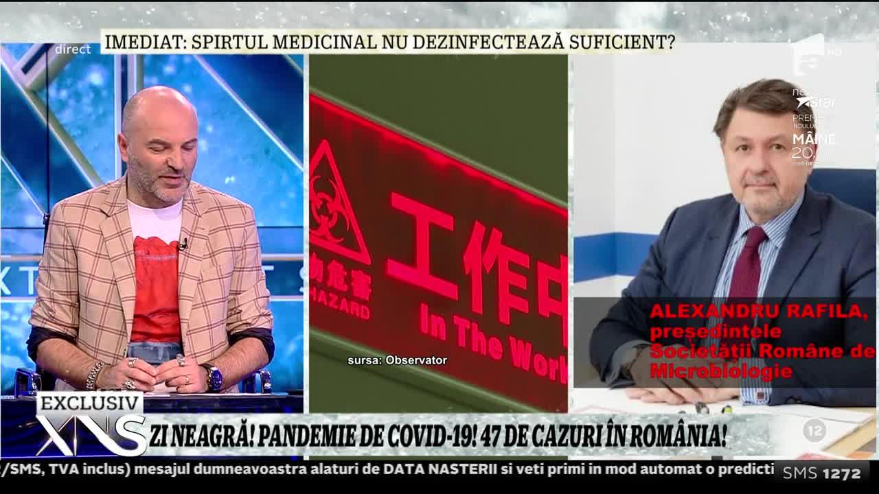 """Alexandru Rafila, presedintele SRM: """"Este cel mai periculos tip de coronavirus din cele şapte cunoscute. Suferă mutaţii la fiecare multiplicare!"""""""