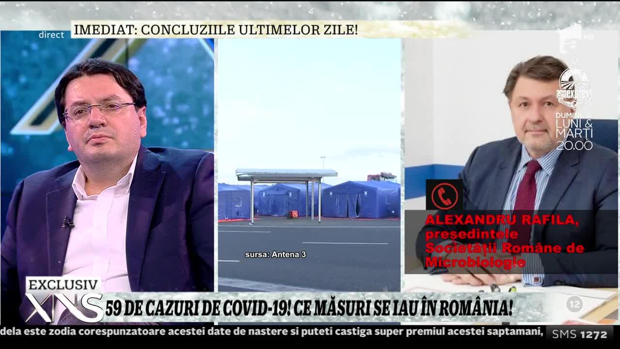 """România, niciun deces cauzat de Covid-19! Medicul Alexandru Rafila: """"Rata mortalităţii în Italia este foarte ridicată pentru că are cea mai îmbătrânită populaţie din Europa!"""""""