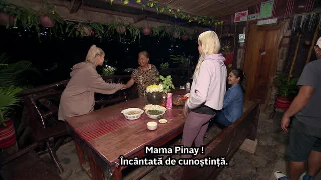 """Alina Ceușan și Carmen Grebenișan, găzduite de Mama Pinay! """"Era şefa şefelor. Avea o casă în care îşi ţinea toate rudele decedate"""""""