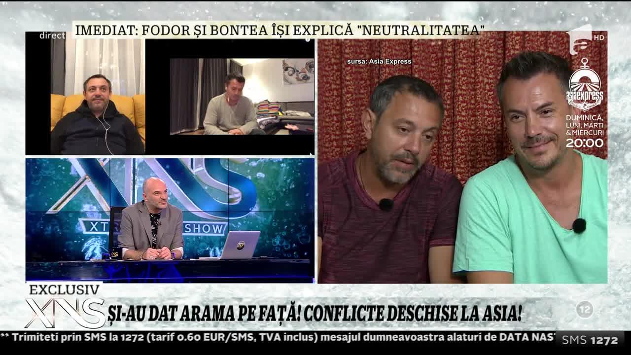 """Sorin Bontea şi Răzvan Fodor, replici memorabile cu care au făcut spectacol la Asia Express! """"Să mă îmbălsămez în miros de frigărui"""""""