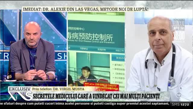 """Virgil Musta, medicul care a vindecat cei mai mulţi pacienţi cu coronavirus: """"Lumea trebuie să înţeleagă că nu există niciun tratament miraculos"""""""
