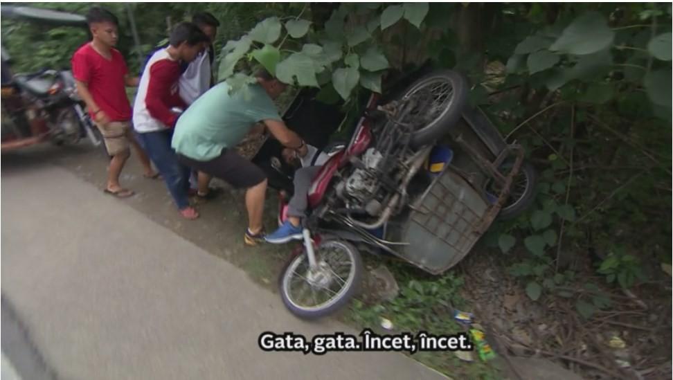 Au salvat un om după accidentul rutier! Sorin Bontea și Răzvan Fodor, adevărați eroi la Asia Express