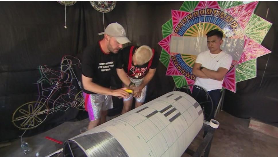 Concurenții devin electricieni și programează un rotor. Frații Ristei: Principiul se aseamănă cu cel de la cutiuța muzicală
