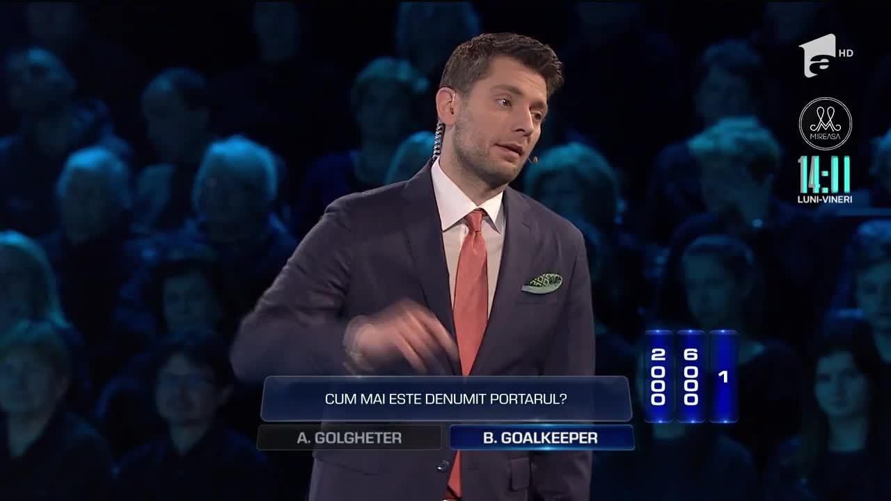 """Alina Puțanu și Daniel Mititelu au început bine la prima probă de la """"The Wall - Marele Zid"""". Căderea liberă le-a adus 22.014 de lei"""