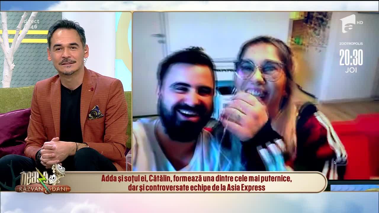 Adda și Cătălin, cea mai controversată echipă de la Asia Express, au făcut un tur al casei lor. Cum arată viața în izolare