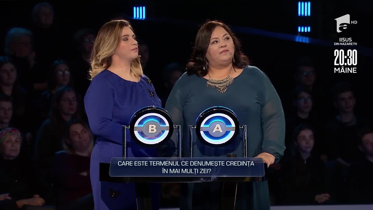 """Carmen și Sabina Zaharescu au câştigat 16.152 RON la prima probă - """"Cădere liberă"""""""