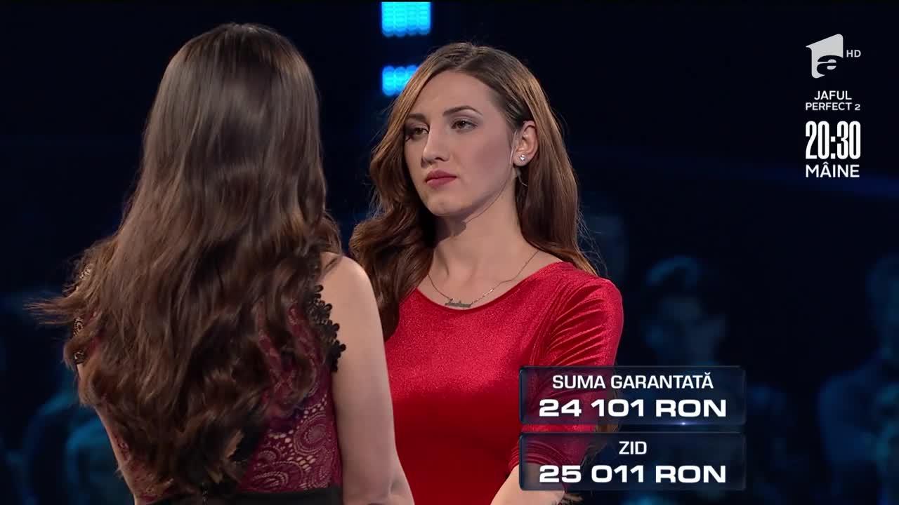 Alina şi Denisa au luat decizia inspirată! Au câștigat 24.101 de lei la The Wall- Marele Zid