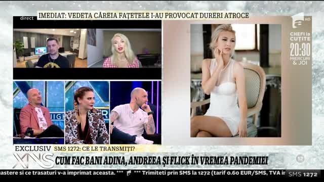 Cum fac bani Adina Buzatu, Andreea Bălan și Flick în vreme de pandemie