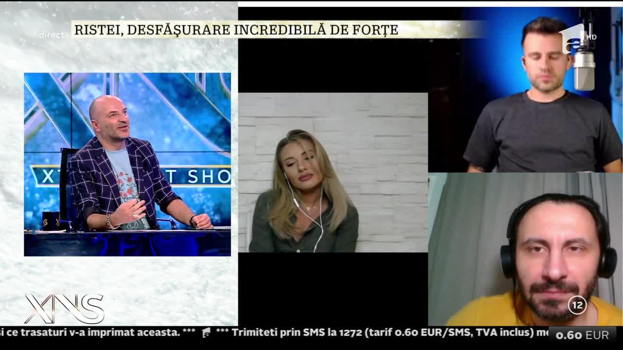 Irina Baiant, Adi Nour și Florin Ristei, moment muzical de excepție: Am vrut să aducem fantoma la viață!