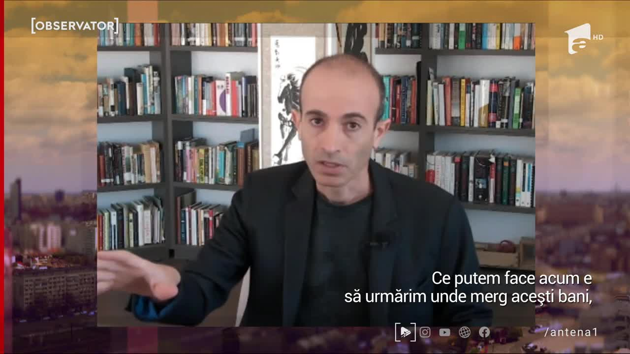 Interviu în exclusivitate - Yuval Noah Harari