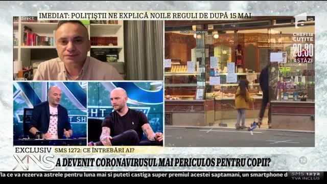 Covid-19 a suferit mutații! Risc de infectare la copii! Doctorul Adrian Marinescu a lămurit cum stau lucrurile | VIDEO