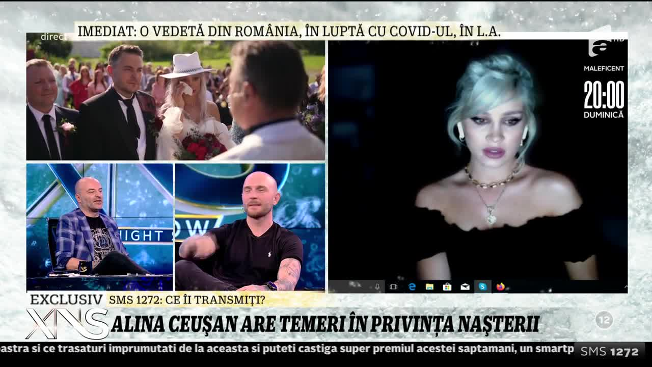 Alina Ceușan este gravidă: Îmi doresc să nasc natural
