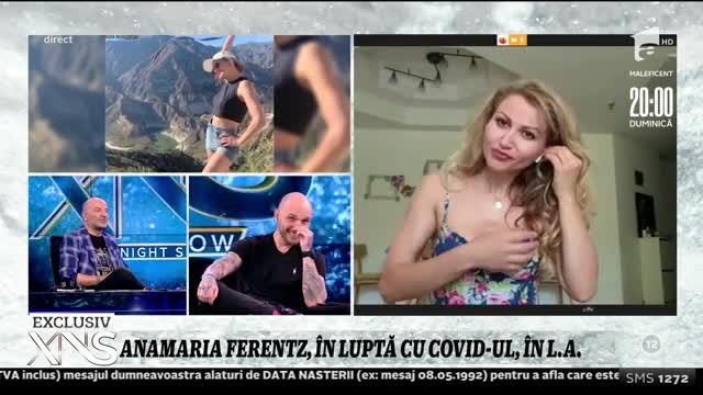 """Cum arată viața în izolare pentru Anamaria Ferentz: """"Sunt singură în casă"""""""