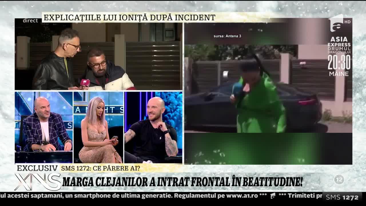 """Ioniță de la Clejani își apară soția: """"Nu a aruncat cu cărămidă, a dat cu apă!"""""""