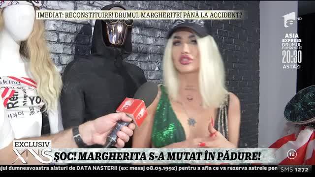 Margherita, primul interviu de după accident: Am depășit momentul