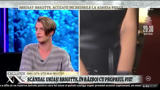 Fiul lui Brigitte, în scandal cu propria mama: Până la 13 ani m-a crescut bunica