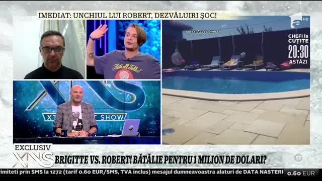 Brigitte Sfăt vs. Robert! Bătălia pentru un milion de dolari?