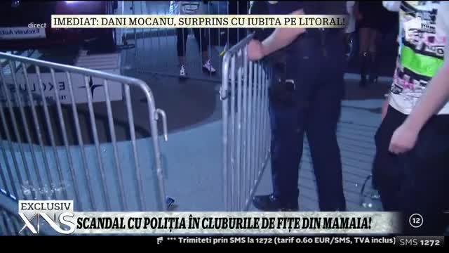 Scandal cu poliția în cluburile de fițe din Mamaia