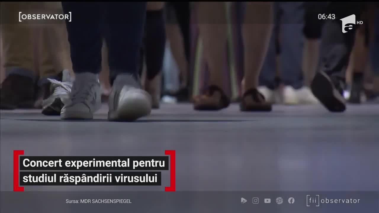 """Peste 1.000 de oameni, chemați la un concert, ca să riște să capete COVID-19, în Germania! De ce au acceptat. """"Mi se pare o abordare bună"""" - Video"""