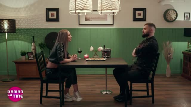 Ioan și Alexandra, întâlnire romantică în casa Rămân cu tine!
