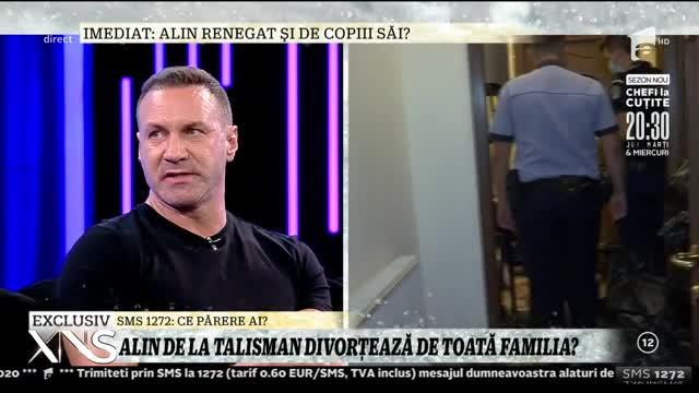 """Alin Oprea, noi dezvăluiri incendiare despre despărțirea de soția sa. Adevăratul motiv al divorțului. """"Când ea a greșit nu a renegat-o nimeni și chiar am păstrat cu toții discreția""""   Video"""