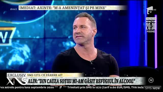 Alin Oprea, acuzat că are probleme cu băutura. Cum se apără artistul