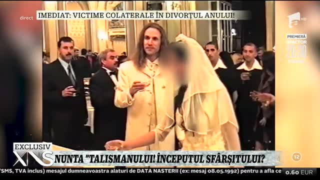 Imagini de colecţie de la nunta lui Alin Oprea, evenimentul care a avut loc în urmă cu peste 20 de ani   Video