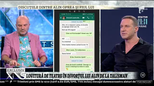 Alin Oprea, divorț cu scandal: Niște oameni m-au agresat și nu mi-au dat voie să intru în casa mea