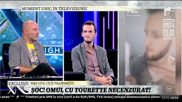Moment unic în televiziune! Concurentul de la iUmor cu sindromul Tourette, în platoul lui Dan Capatos: De la șase ani am această problemă!