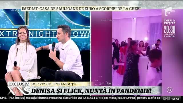 Flick şi Denisa, nuntă în pandemie