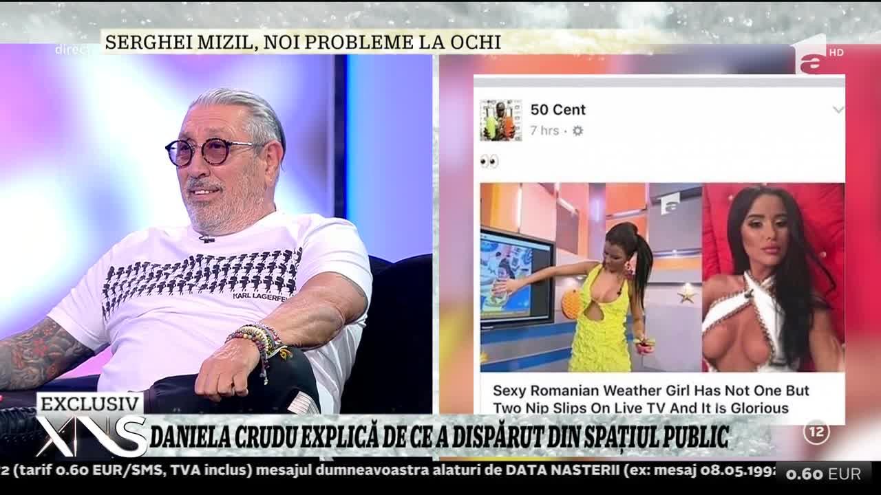 Daniela Crudu, virală în Statele Unite! 50 Cent a distribuit câteva imagini cu ea