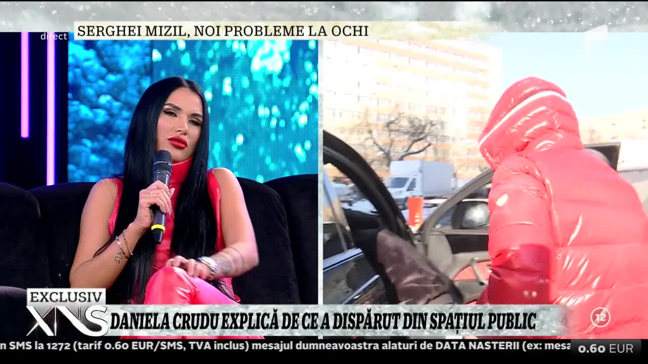 Daniela Crudu s-a despărțit de croatul care a bătut-o: Nu mai avem nicio treabă, era mult prea gelos!