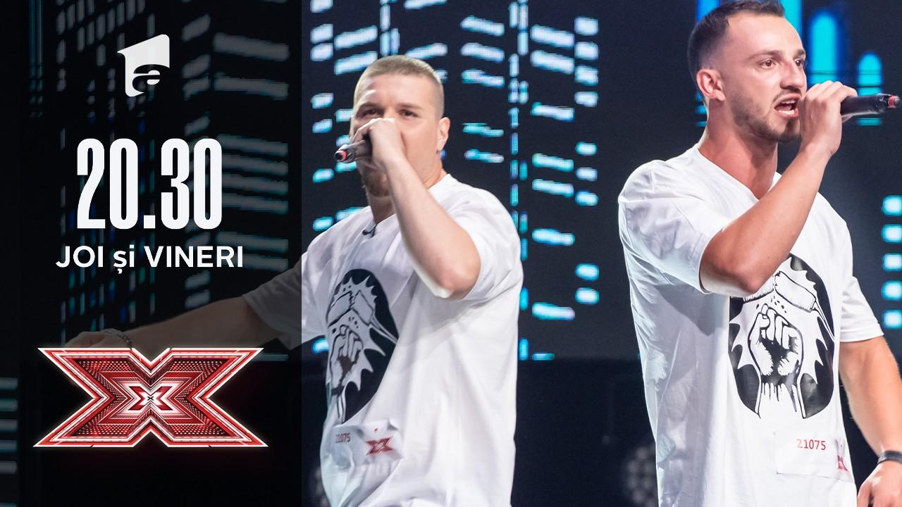 X Factor 2020: Ștefan Bolnavu și Cătălin Heisanu  - Compoziție proprie