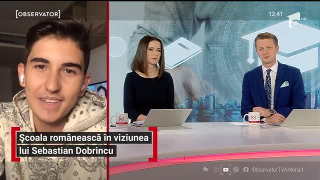Sebastian Dobrincu, despre urgenţele educaţiei româneşti. Ce ar trebui schimbat