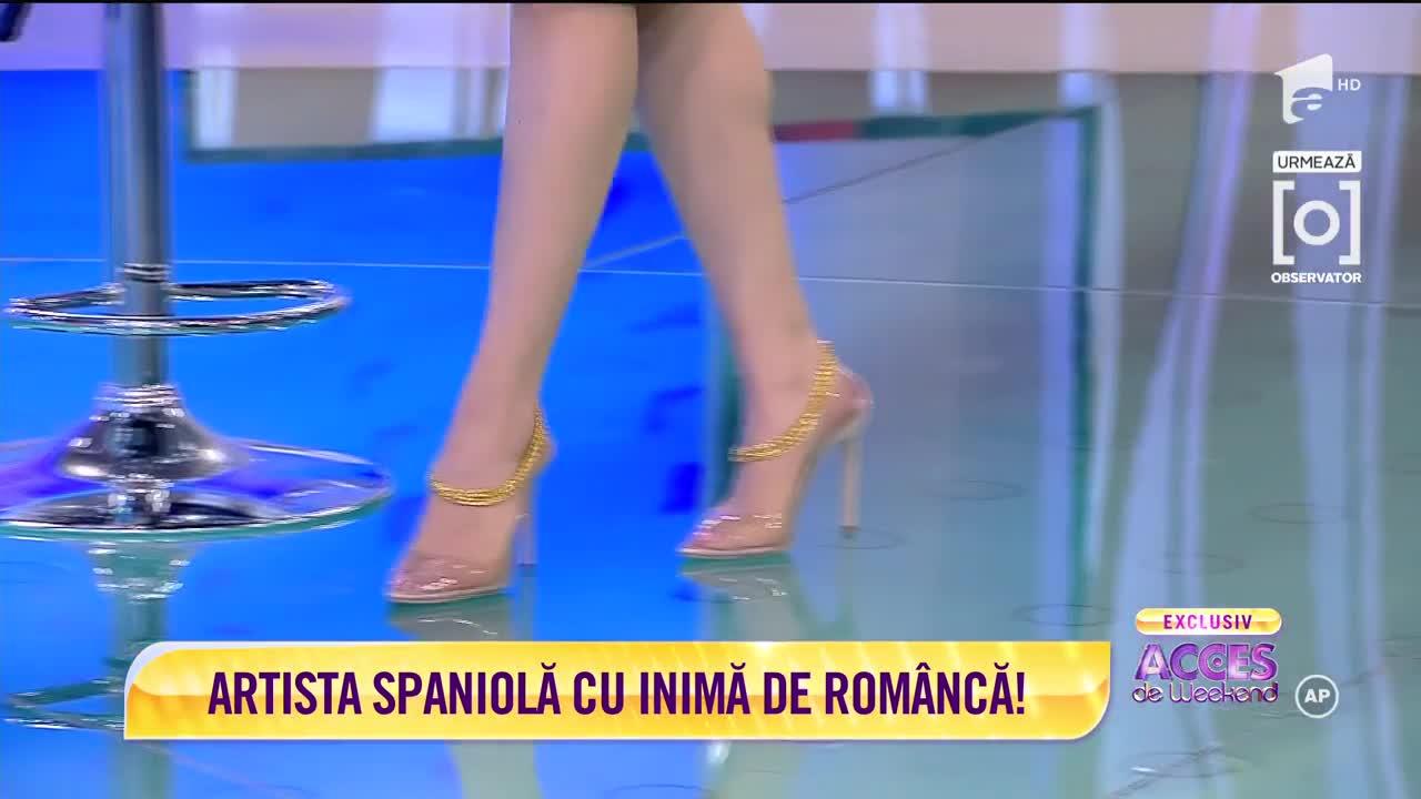 Barbara Isasi, artista spaniolă cu inimă de româncă!
