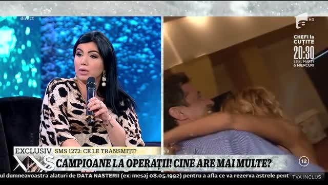 Adriana Bahmuțeanu și Daniela Gyorfi, campioane la operații! Cine are mai multe?