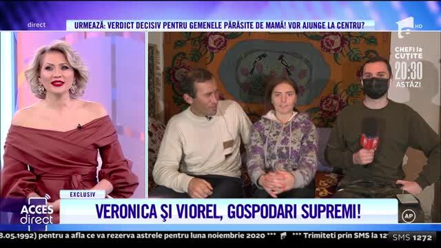 Veronica și Viorel, gospodari supremi! Vecina este ajutorul de nădejde al soților Stegaru