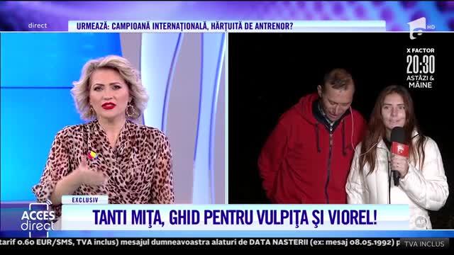 Veronica şi Viorel Stegaru, turul satului cu Tanti Mița!