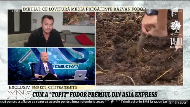 "Răzvan Fodor, tratamente dupa Asia Express: ""Mi-a trecut antraxul pe la nas"""