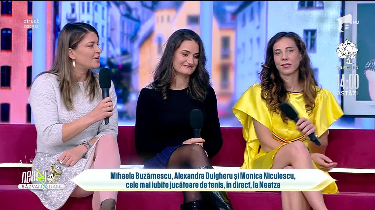 Mihaela Buzărnescu, Alexandra Dulgheru și Monica Niculescu, cum arată jucătoarele de tenis când nu îmbracă echipamentul sportiv